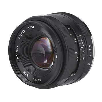 Topiky Meike Lente de cámara F / 1.4 de 35 mm, fotografía con ...