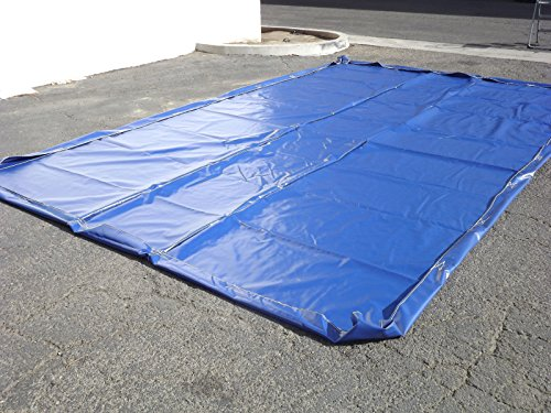 Water Containment Mat For Car Wash and Mobile Detailing - 12'x23' Car Wash Mat