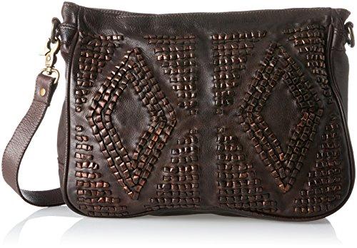 Pickpocket Vienna Borsa Une Tracolla Pelle 29 Cm Marrone (brun foncé)