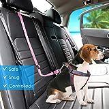 URPOWER Dog Seat Belt 2 Pack Safety Dog Car Seat
