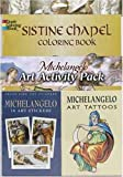 Michelangelo Art Activity Pack (Dover Coloring Book)