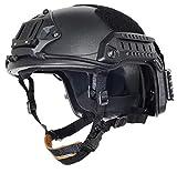 (US) OSdream Adjustable Helmet ABS For Outdoor Sport (Black, M/L)