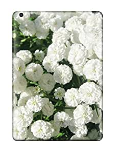 Chris Marions's Shop New Style Hot Style Protective Case Cover For Ipadair(white Flowers)