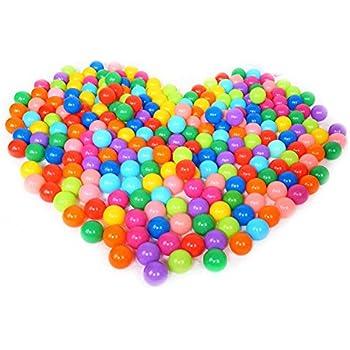 100pcs Ball Pit Colorful Soft Plastic Ocean Balls Baby Kid Toys Swim Pit Toys Ball