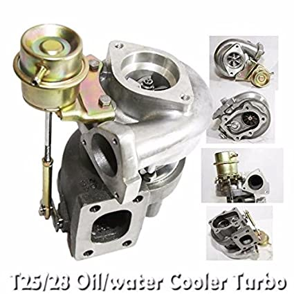 Amazon.com: Nissan 180sx 240sx 300zx RB20 RB25 RB26 T25/T28 Turbo .86 AR TD04-H water cool: Automotive