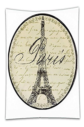 Nalahome Fleece Throw Blanket Paris Decor Collection Vintage Wall Decorative Sign With Paris Theme Interior Famous Landmark Tourism