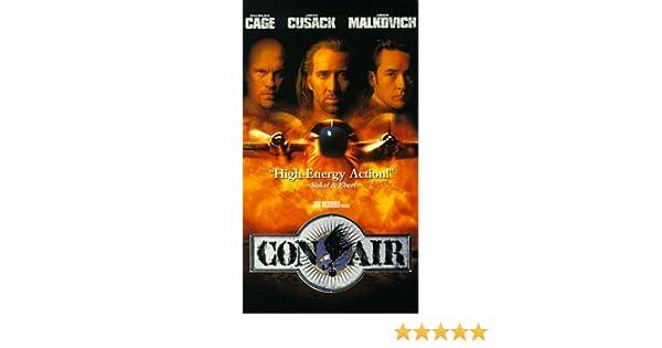 Con Air [USA] [VHS]: Amazon.es: Nicolas Cage, John Cusack, John Malkovich, Ving Rhames, Nick Chinlund, Steve Buscemi, Colm Meaney, Rachel Ticotin, ...