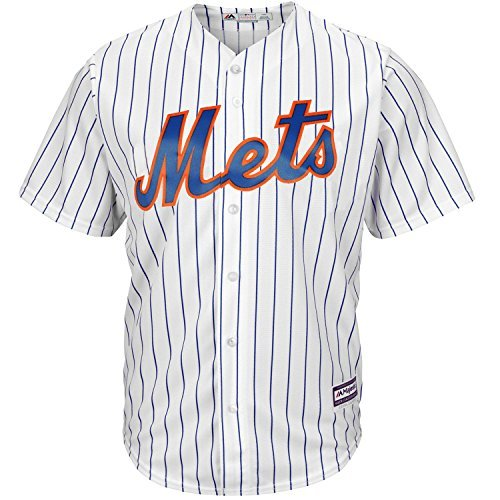 Outerstuff New York Mets Youth Cool Base Home Team Jersey (Youth X-Large (New York Mets White Jersey)