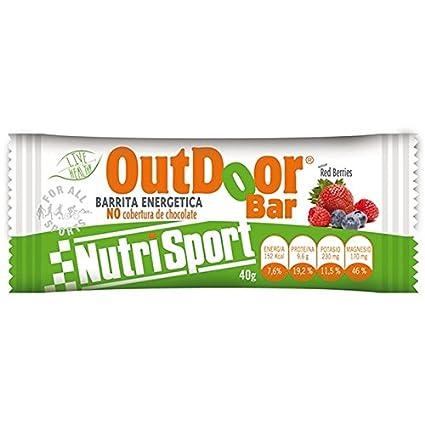 Nutrisport barrita energetica frutos rojos