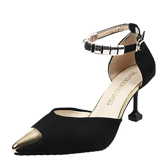 e12b71a59e142 Amazon.com: Claystyle Women's Lowpointed Low Heel Dress Pump Shoes ...