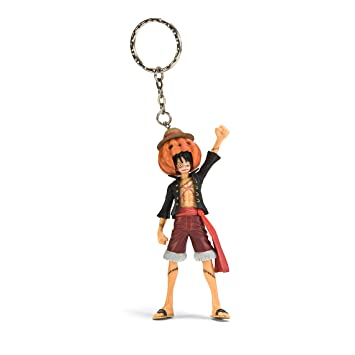 De One Piece real Figura llavero Halloween - Monkey D. Luffy ...