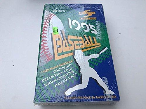 (1995 Score Pinnacle Series 1 Baseball Card Wax Box Sealed)