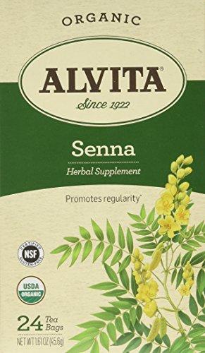 Alvita Organic Herbal Tea Senna - 24 Tea Bags