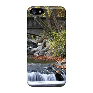 KayGY Iphone 5/5s Well-designed Hard Case Cover Old Cement Bridge In An Oregon Park Protector