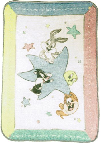 (Looney Tunes Luxury High Pile Plush Throw Baby Blanket )