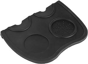 Silicone Pad Tamping Mat Tamping Mat, Food Grade Silicone Mat Coffee Tamper Mat, Coffee Powder Tamper Holder for Shop