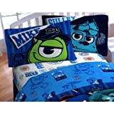 monsters inc bedding set twin - Disney's Monsters University Stare Sheet Set, Twin