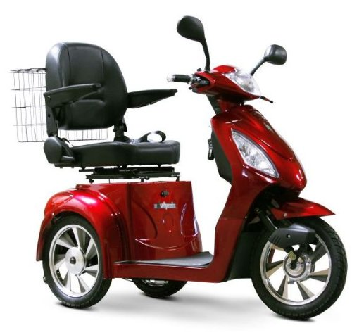 Senior Scooter – Electric Mobility (Red)