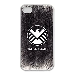 iphone4 4s phone cases White S.H.I.E.L.D fashion cell phone cases JYTR4097275