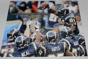 Ladainian Tomlinson Autographed Signed San Diego Chargers 16X20 Photo (authenticated by GTSM)