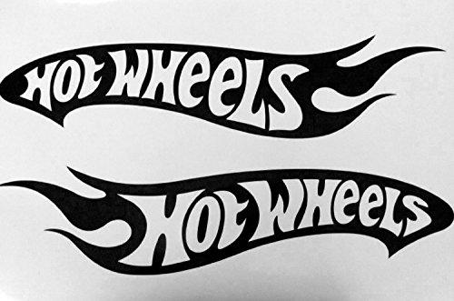 2x HOT Wheel TRUCK Decals Stickers Vinyl Buy 2 Set 3rd Free