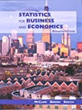 Statistics for Business and Economics and Microsoft Excel Supplement Package, McClave and James T. McClave, 0130811300