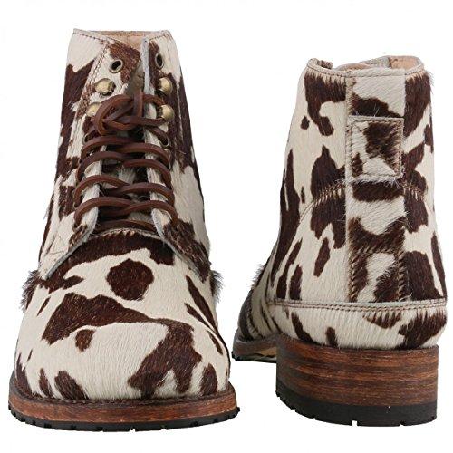 Sendra Boots - Botas de Piel para hombre Marrón Weiß/Braun