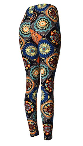 34e3e15bd78343 VIV Collection Updated Best Selling Popular Printed Brushed Buttery Soft  Leggings Regular and Plus 40+
