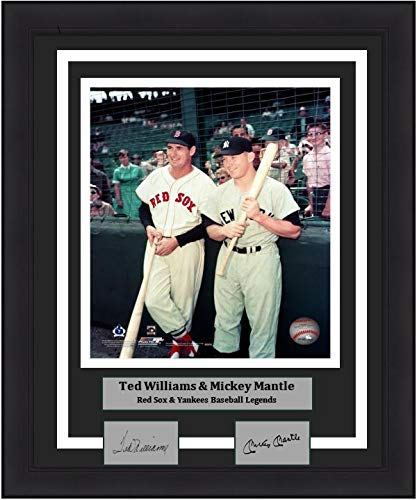 Red Sox/Yankees Ted Williams & Mickey Mantle 8