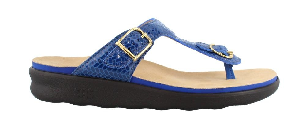 SAS Womens Sanibel Sandal (6.5 M (M) (B) US, Weave Sapphire)