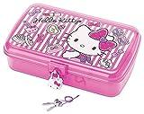 Hello Kitty JEWELRY CASE W/LOCK: GIRLY PASTEL