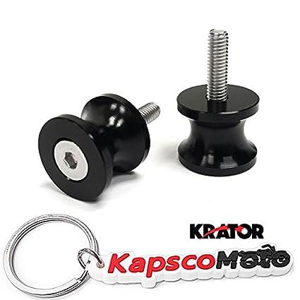 Krator perfil bajo 6 mm negro basculante carretes (se adapta ...