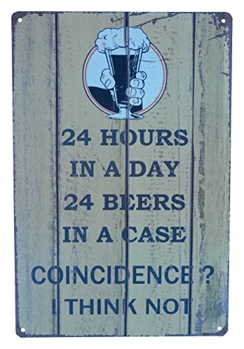 Beer Alcohol Drinking Funny Tin Sign Bar Pub Diner Cafe Wall Decor Home Decor Art Poster Retro Vintage