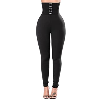 fa2315b59e Amazon.com   Summer Fashion Yoga Pants for Women High Waist Petite Length  Leggings Depot Sports Gym Yoga Waist (XL