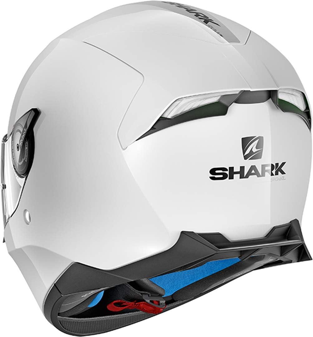 Motorradhelm SKWAL 2 BLANK WHT LED WHU Shark