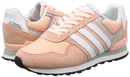 adidas 10K W - Zapatillas deportivas para Mujer, Rosa - (CORNEB/FTWBLA/PLAMAT) 38 2/3
