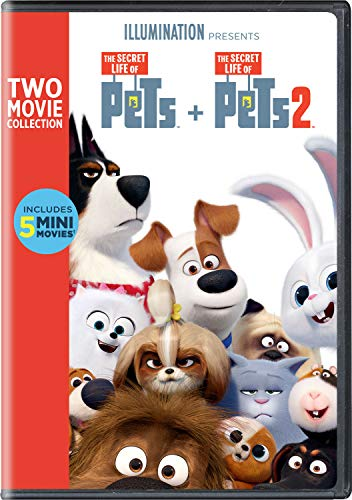 The Secret Life of Pets: 2-Movie Collection (The Movie Life)