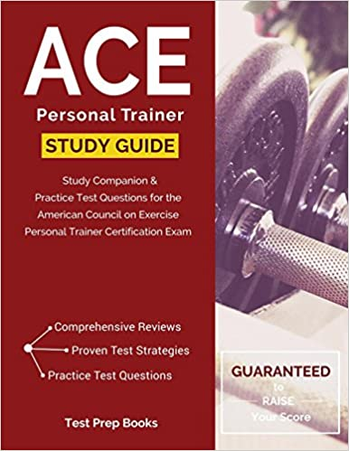 buy ace personal trainer manual & study guide: study companion ...