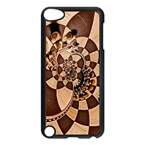 Chess Manipulation Psychedelic Trippy Chess Board iPod Touch 5 Case Black 91INA91320933