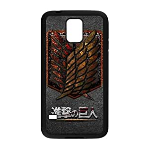 The Cartoon Anime Attack On Titan Cell Phone Case for Samsung Galaxy S5