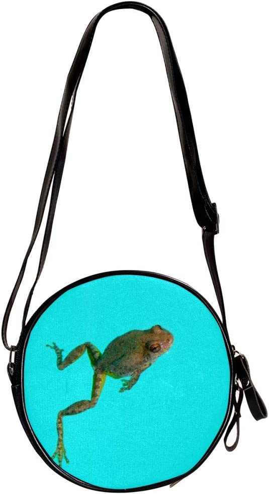 small crossbody bag for women and men,anti theft shoulder bags zip bag crossbody Animal 7x1.8 inch