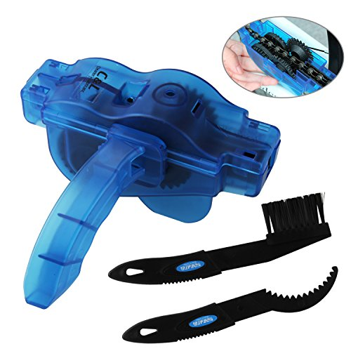 eaner, Chain Scrubber Cleaning Tool With Rotating Brushes Cleaning Accessories Set for Cycling ()
