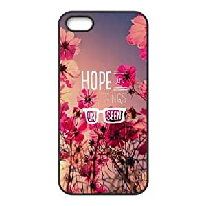 iPhone 4 4s Cell Phone Case Black quotes parallax hope things unseen Dgeyd