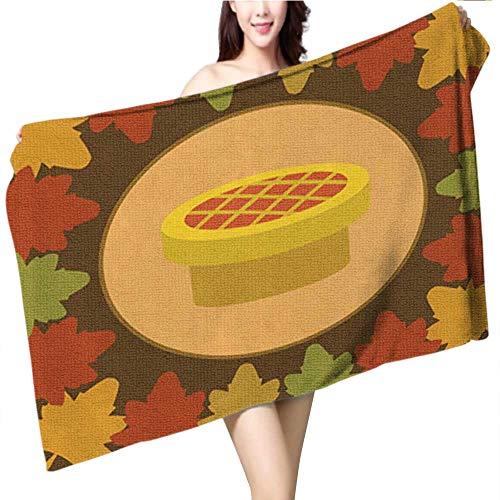 Philiphome Custom Baby Bath Towel,Halloween Pumpkin Carving Set Happy Halloween Typography Vector,Print Wrap Towels, Size:63 x 31.5 INCH