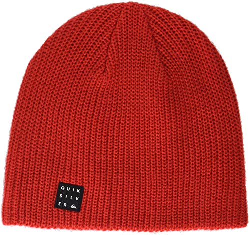 (Quiksilver Boys' Big Silas Youth Beanie, Flame, 1SZ)