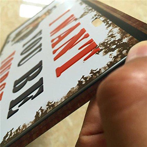 15x30cm Pósteres Placas Cartel Arte de Pared Muestra Lata ...