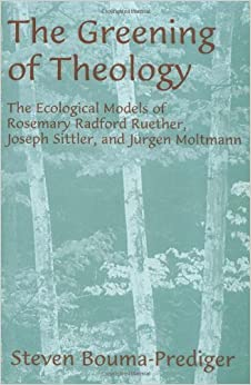 Book The Greening of Theology: The Ecological Models of Rosemary Radford Ruether, Joseph Stiller, and Jürgen Moltmann (AAR Academy Series) 1st edition by Bouma-Prediger, Steven (1995)
