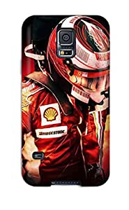 Durable F1 Racer Back Case/cover For Galaxy S5