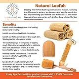 Natural Loofah Exfoliating Bath Sponge by Spa