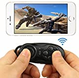 Grandey 5 In 1 Wireless Bluetooth Gamepad Game Controller Joystick Selfie Remote Shutter Wireless Mouse For iPhone IOS Samsung Android